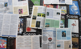 Mise en page magazines Sortir