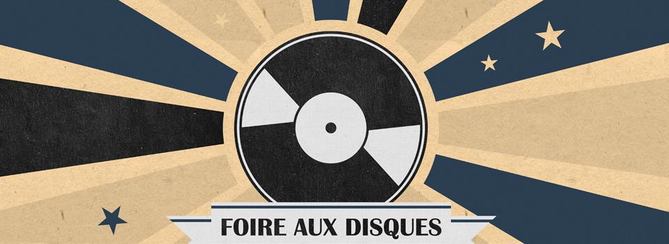 Affiche Foire aux disques