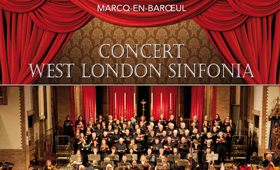 Flyer concert West London Sinfonia