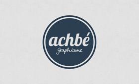 Logotype Achbé Graphisme