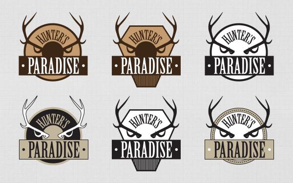 logo-hunters-paradise-déclinaisons