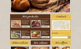 Maquette site Boulangerie Louise